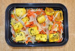 Rosemary Tofu Saffron Carrot Rice