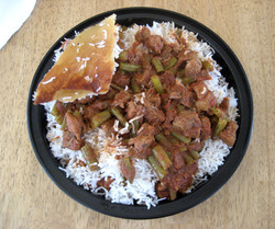 Beef Green Beans Rice