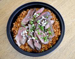 Patricks Beef Rice & Peas
