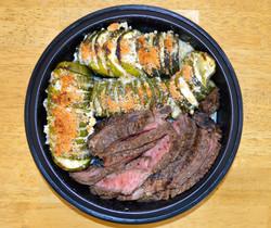 Balsamic Marinated Steak Hassleback Zuch
