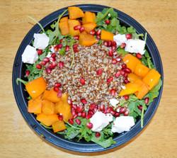 Kale Persimmon Quinoa Salad