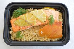 Salmon Brown Rice