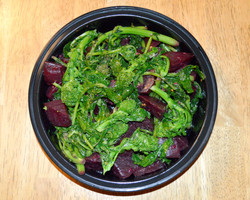 Broccoli Rabe Golden Red Beets