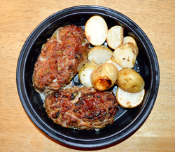 Individual Sized Meatloaf