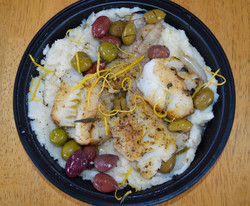Wild Cod Olives Smoked Olive Oil