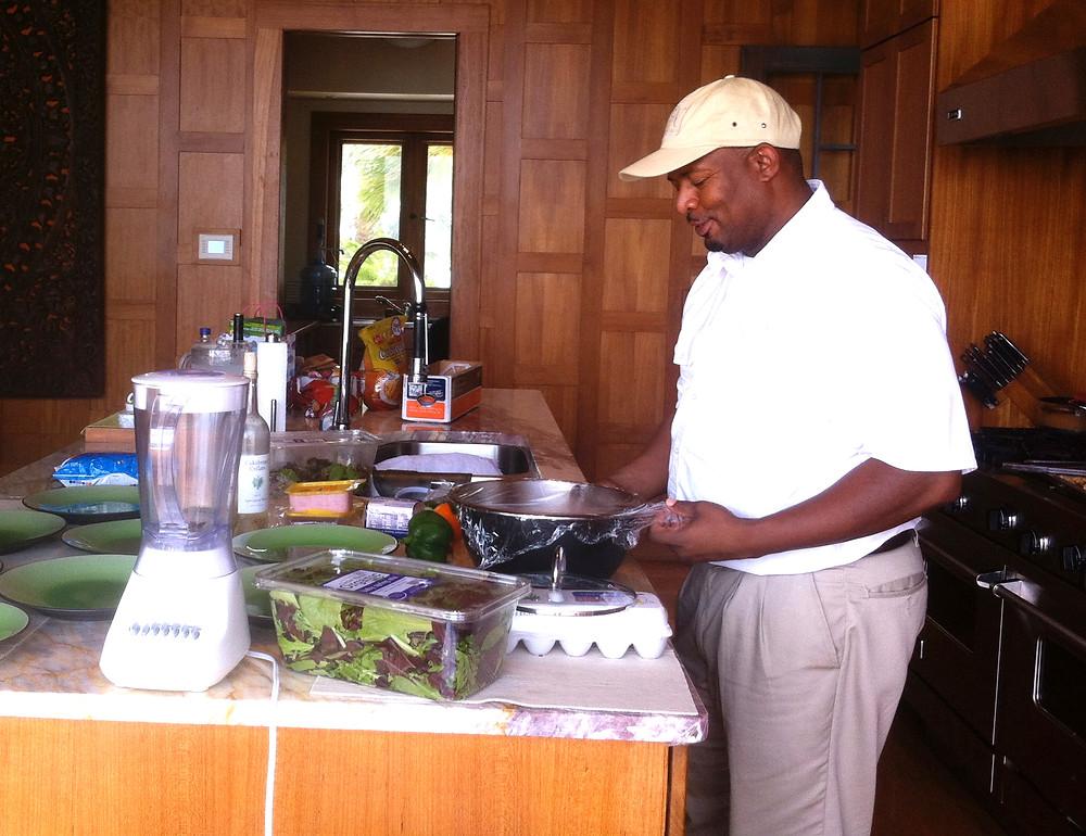 Chef Patrick -Nandana Resort, Grand Bahama Isle