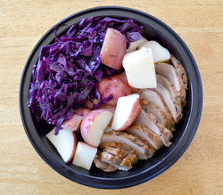Powers Brew Pork Red Cabbage