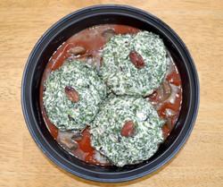 Spinach Stuffed Portabella