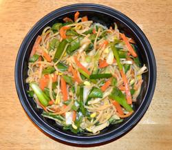 Dashi Vegetable Lo Mein