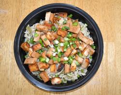Teriyaki Tofu Asian Noodles