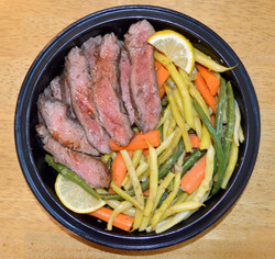 Garlicky Steak Capers String Beans Carro