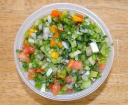 Green Red Tomato Salsa