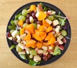 Persimmon Grapes Apple Salad