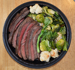Wagyu Beef w/Roasted Brassicas