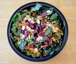 Kale Tricolor Carrots Salad