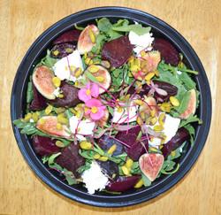 Arugula Roasted Beets Fig Salad