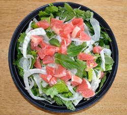 Grapefruit Fennel Dandelion Salad