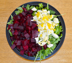 Arugula Beet Frisee Salad