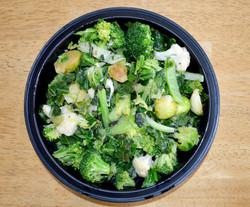 Oregano Garlic Brassica