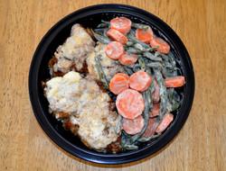 Creamed Chicken w/ G Beans Carrots