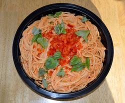 Roasted Red Pepper Spaghetti