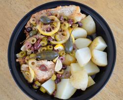 Mediterranean Chicken Potato