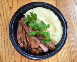 Flank Steak Potato Cauli Pure