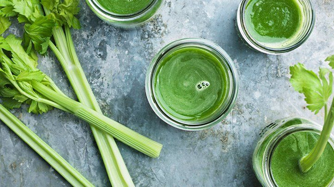 Humble celery...