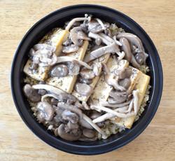 Tofu Wild Mushrooms Quinoa
