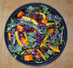 Kale and Red Cabbage Salad