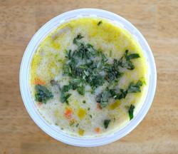 Leek Rice Carrots Soup