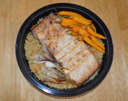 tofu Carrots Quinoa