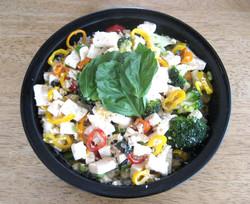 Tofu Broccoli Peppers
