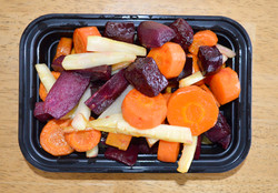 Cider Roasted Carrots Beets Parsnips Yam