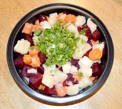 Beet Yuca Salad