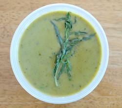 Green Pea Tarragon Soup