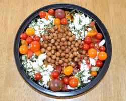 Tomato Cucumber Salad Chic Pea