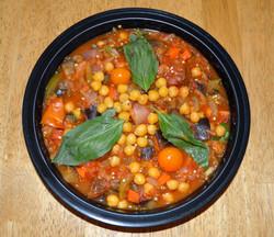 Eggplant Tomato Ragout