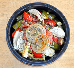 Mediterranean Roasted Vegetable Medley