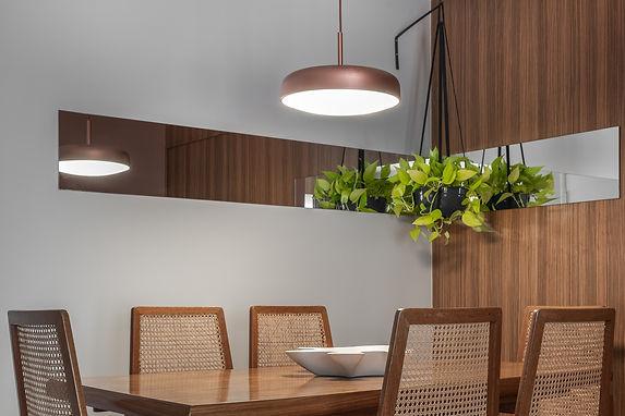 Projeto Brooklin - detalhe sala de janta