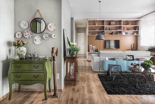 Projeto Ipiranga entrada e sala de estar