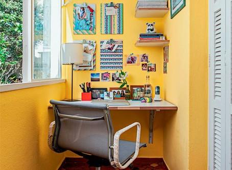 8 DICAS DE CORES PARA PINTAR O HOME OFFICE