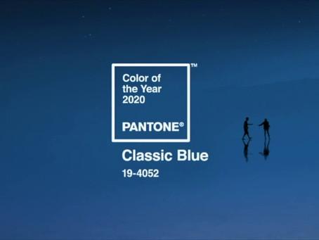 CLASSIC BLUE É A COR DO ANO PARA 2020