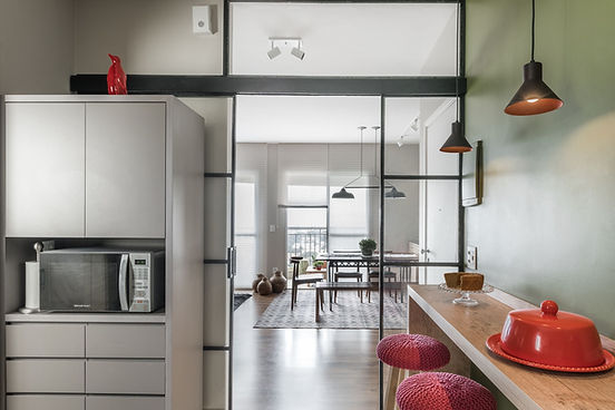 Projeto Ipiranga da cozinha para a sala
