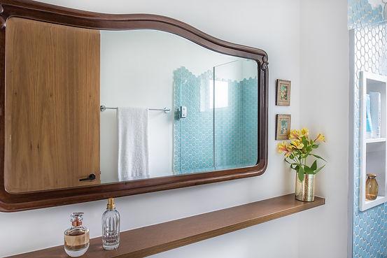 Banheiro com cara de lavabo detalhe espe