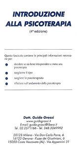 Introduzione alla psicoterapia -Guido Gr
