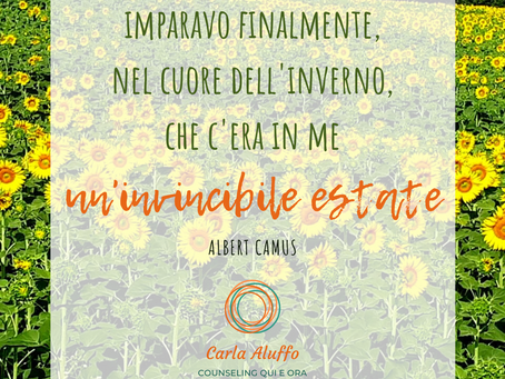 """Invincibile estate"" di Albert Camus"