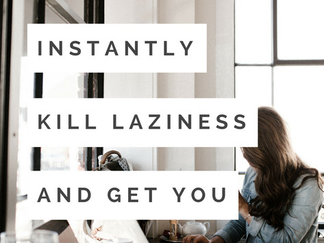 8 Instant Motivators for When you're Feeling Unmotivated