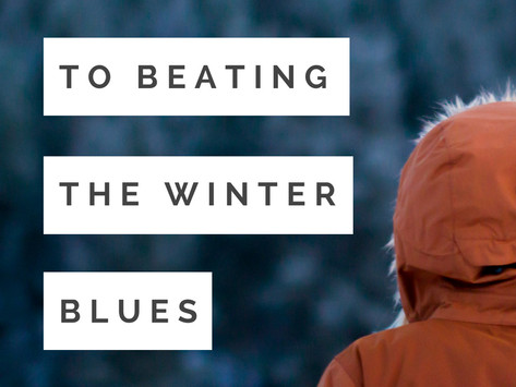 3 Steps to Beating the Winter Blues
