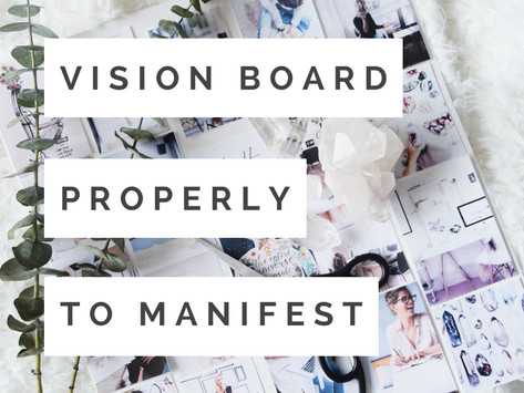How to Use a Vision Board to Manifest Your Dreams